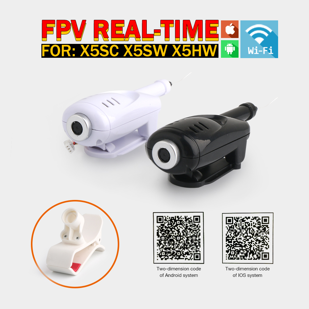 Original Syma X5SW WIFI Camera 2.4G 4CH RC Helicopter Spare Parts Drone For Syma X5SC X5HC X5HW(China (Mainland))