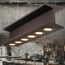 Free shipping LED American retro industrial dining room droplight coffee cafes bar vintage pendant lamp restaurant pendant light(China (Mainland))