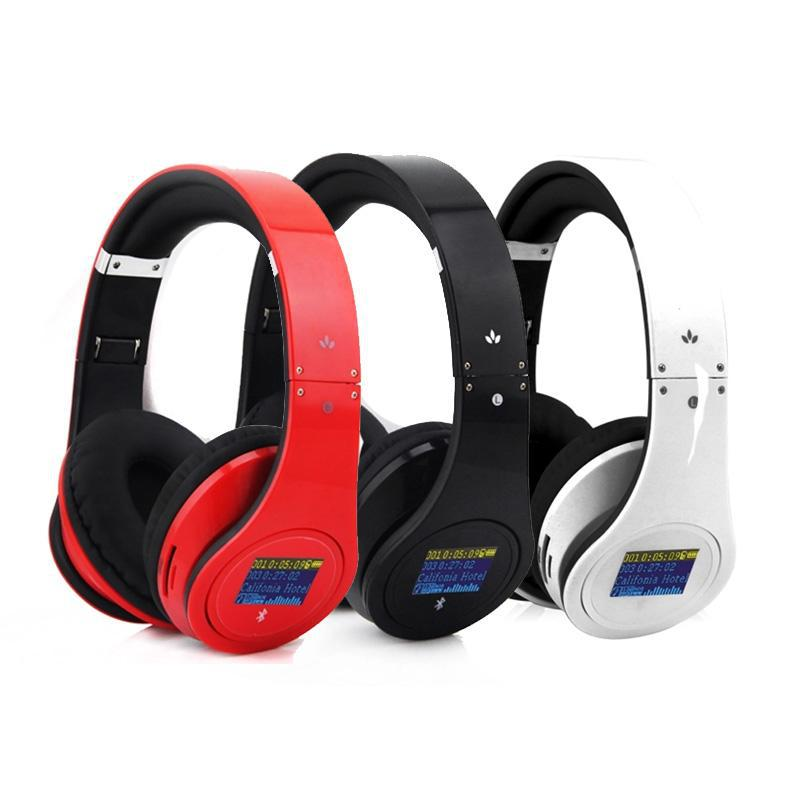Big Discount! Bluetooth earphone the headset Hi Fi Speakers Surround Gaming Headset Stereo Headphone FM TF Card With Micphone(China (Mainland))