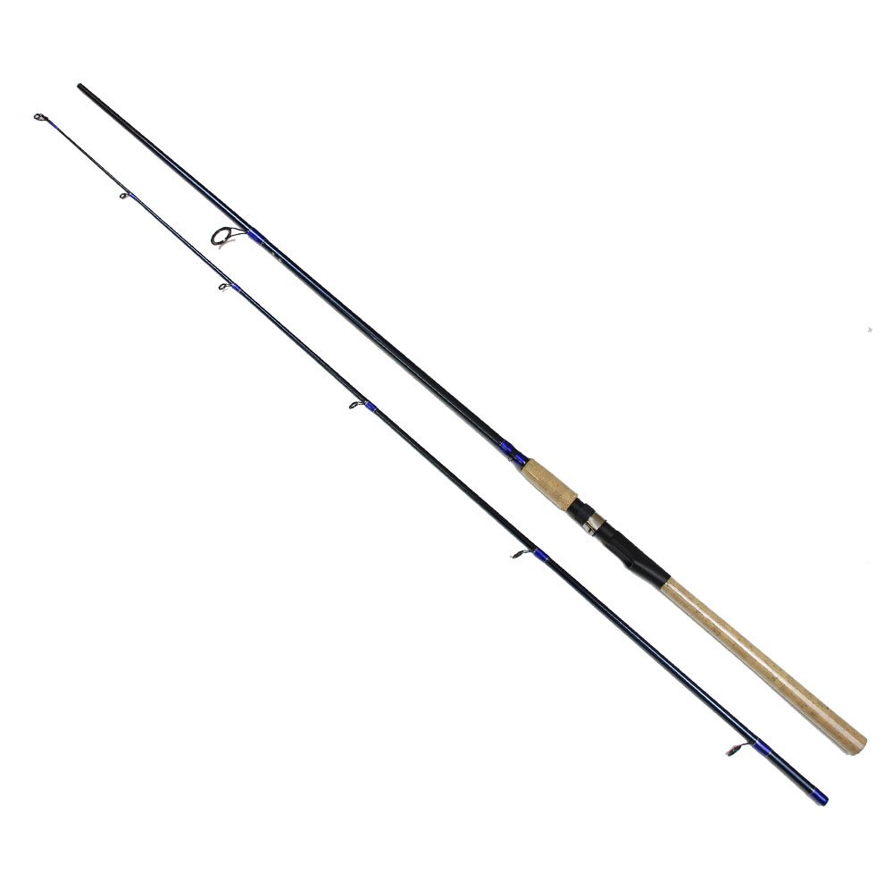 Bass fishing rod spinning carbon firber pole h for Power pole fishing