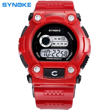 High Quality Fashion Casual Sports Digital Watch Outdoor Sports Waterproof Multi-functional Children's Watches Clock 88888