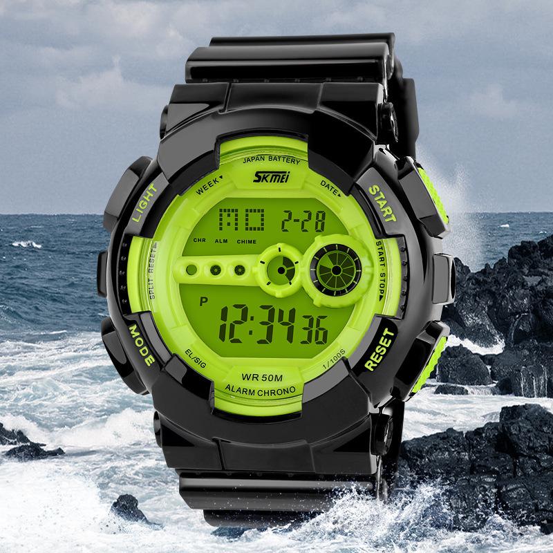 Гаджет  Skmei1026 Skmei Watch Military Army Watch Brand Men LED Digital Watch Sport Wristwatches hombre casual Outdoor Sport wristwatch None Часы