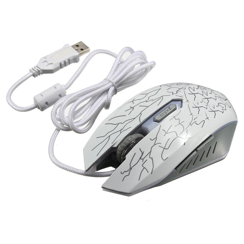 Hot Sale USB Wired Gaming Mouse Scroll Wheel 6 Button 800-2000DPI For Computer Desktop PC Best Design(China (Mainland))