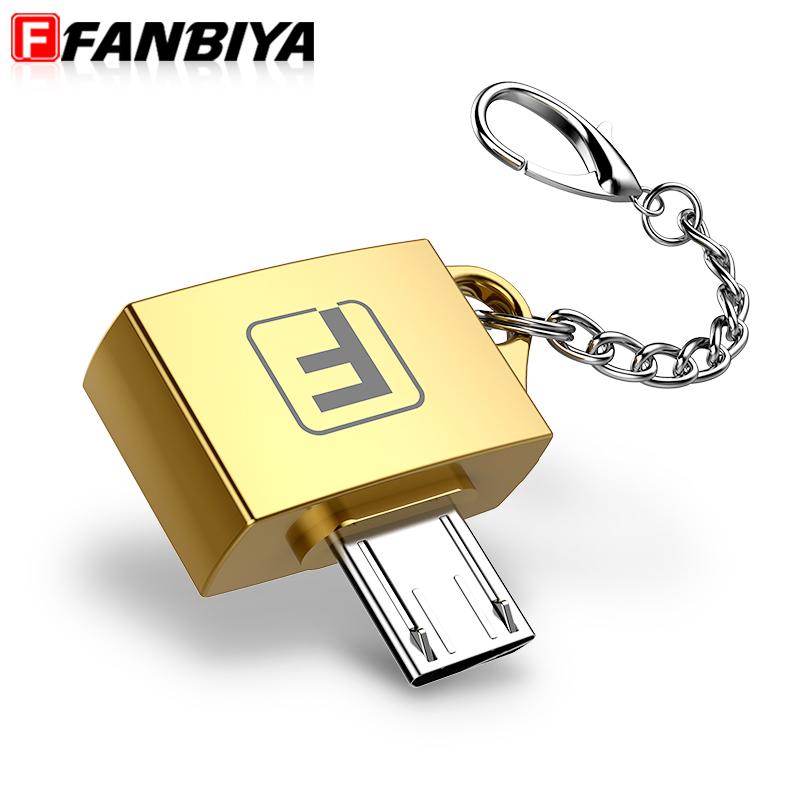 FANBIYA OTG Adapter USB Android Mini Micro usb data cable Converter HDMI for samsung galaxy s6 xiaomi mi5 adaptador usb to usb c(China (Mainland))