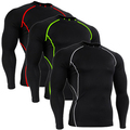 Men s tracksuits men s fitness compression workout bodybuilding mens long sleeve tshirt men compression shirts