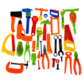 34PCS Repair Tools Toys Pretend Role Play Plastic Fancy Dress Instruments Toy Kit for Children Great
