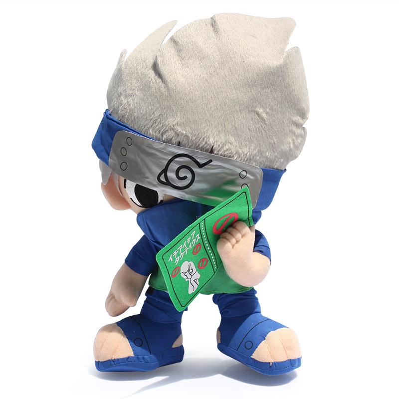 "Naruto Hatake Kakashi Plush Toy Plush Doll Figure Toy 12"" Chritmas Brithday Gift Japanese Anime Cartoon(China (Mainland))"