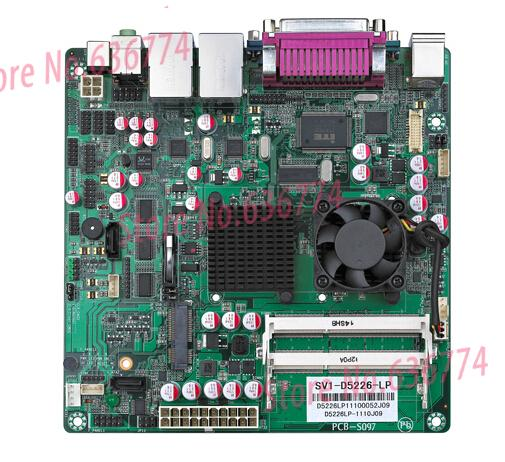 sv1-d5226 motherboard atom d525 dual-core 1.8g dual network card(China (Mainland))