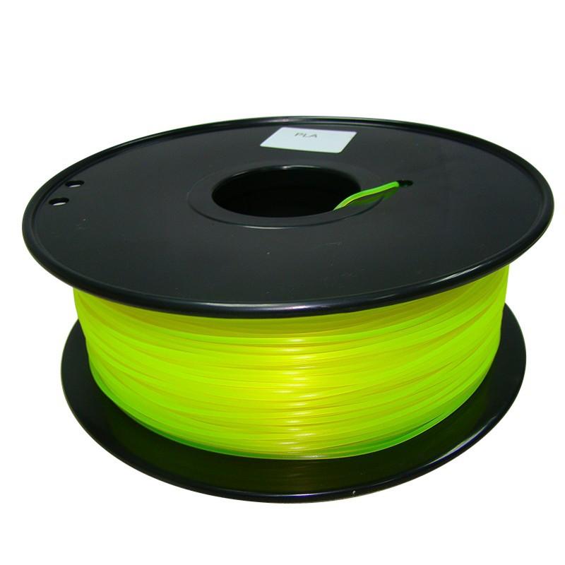 yellow color 3d printer filament PLA ABS 1 75mm 3mm 1kg Consumables Material MakerBot RepRap UP
