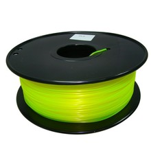 yellow color 3d printer filament PLA ABS 1 75mm 3mm 1kg Consumables Material MakerBot RepRap UP