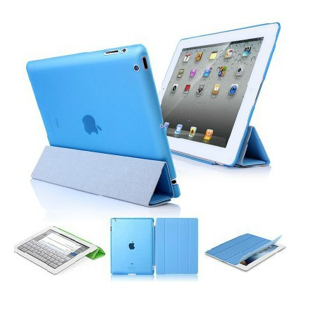 ..Ultra Slim ipad air Smart Case Cover,Fold Leather 5 Air Crystal Back Hard Shell - XinJinDa Electronics Technology Co., Ltd. store