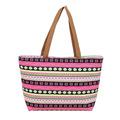 Fashion Patchwork Design Women Shoulder Bag Portable Canvas Female Top Handle Handbag Women s Casual Tote