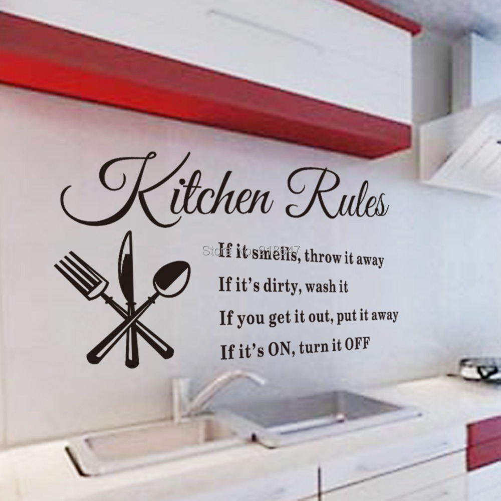 Sk9008 warm romantic diy removable wallpaper colorful for Kitchen cabinets lowes with wall art stencils quotes
