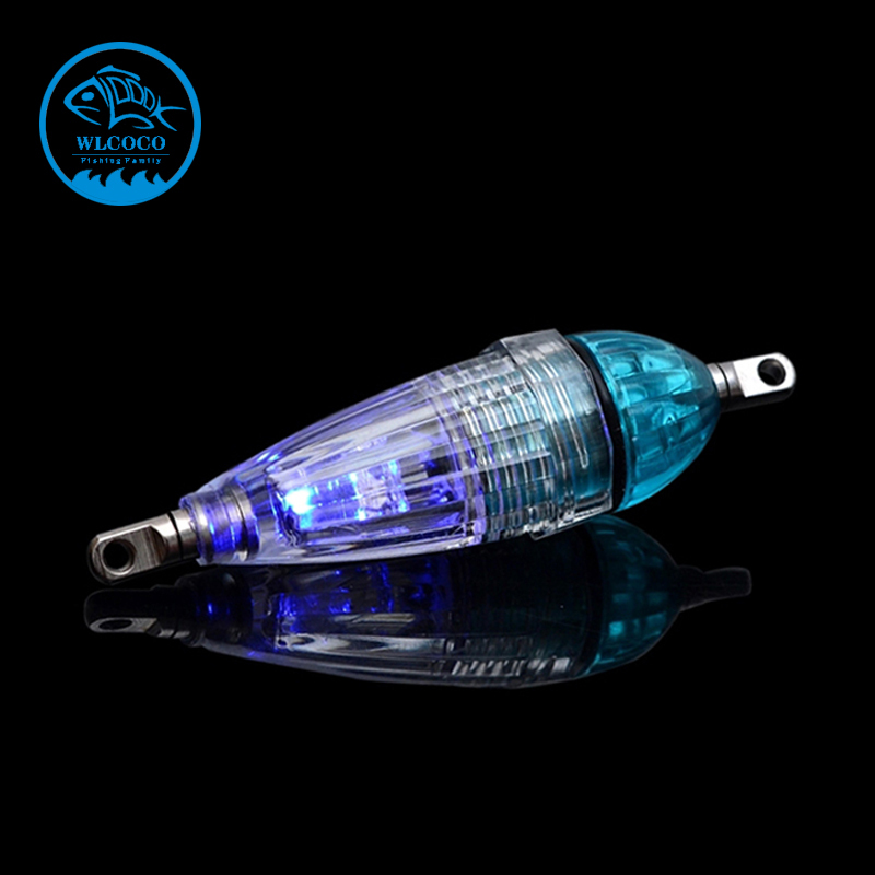 Trulinoya LED Fish Lure Device Underwater Attracting Fish Lamp Fishing Lights For Free Shipping YYD-BL