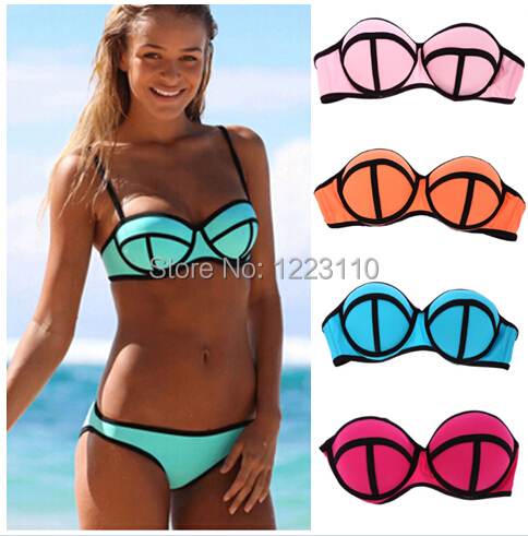 New, trendy styles, and patterns that will compliment any woman. Our womens bathing suit styles range in coverage from swim shorts & high waist swimsuits, to classic Brazilian bikini bottoms, sexy one piece swimsuits, and even the skimpy bathing suits like micro bikini, g strings & thongs.
