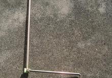 Single- hand car rocker scissor jack hand crank bent rod up(China (Mainland))