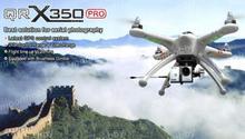 Walkera QR X350Pro W/ Devo 7 Radio/battery/charger RTF FPV Drone Quadcopter Free Express Shipping