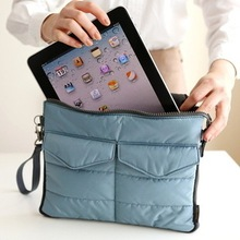 free shipping  Arrival Hot selling Pad tablet Organizer Bags for storage bag in bag unisex computer clutch tote bag(China (Mainland))