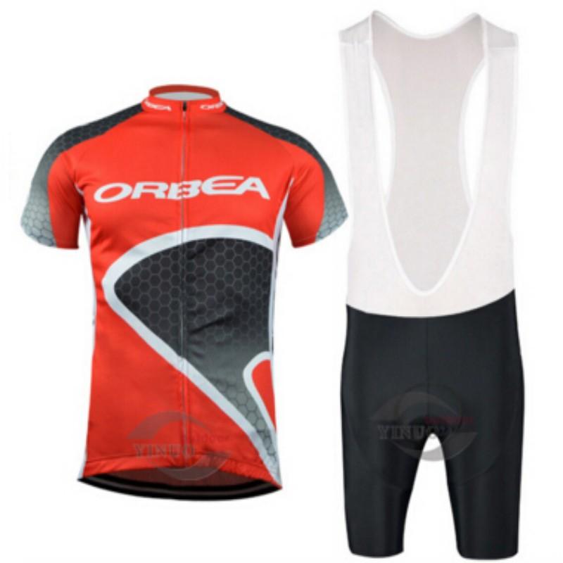 Orbea cycling jersey kits ropa ciclismo hombre bicycle mtb bike cycling clothing sport jerseys maillot ciclismo bicicetas set(China (Mainland))