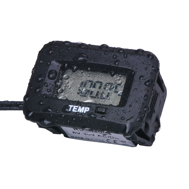 Digital waterproof temp sensor TEMP temperature thermometer motorcycle outboard chainsaw paramotor tractor ATV pit bike