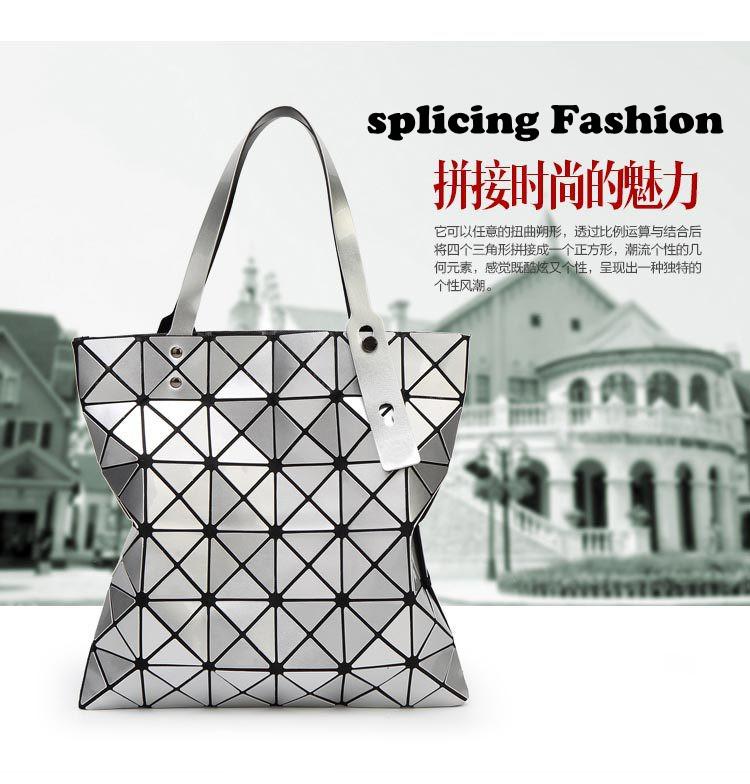 2015 New type Handbag for Women Bags Handbags Women Famous Brands Patchwork Bags Geometric Bags Women Shoulder Tote Bag(China (Mainland))