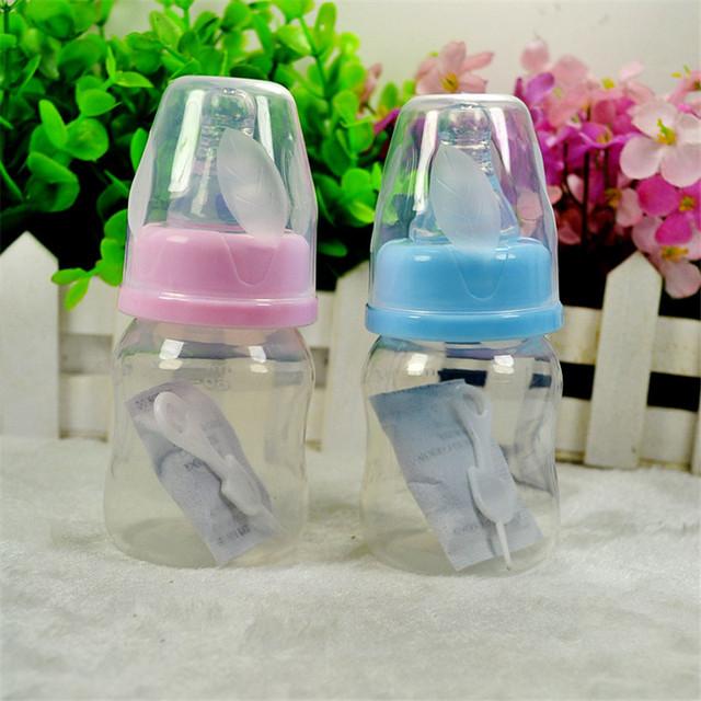 Милый ребенок бутылка младенческой новорожденных кубок дети учатся кормление питьевой ...
