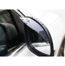 For VAZ Lada Largus accessories 3D Car Rain Eyebrow Rearview mirror rain gear 2pcs set