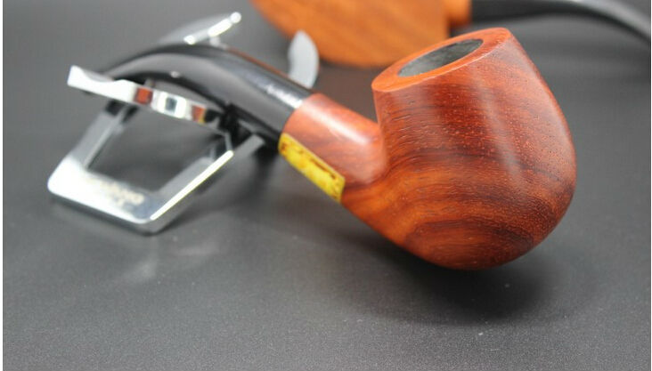 2015 Hot Wooden Smoking Pipes Tobacco Pipes Portable Pipes Smoking Great Gift for Friends Smokers