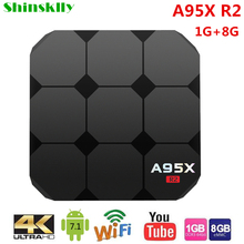 Buy Shinsklly A95X R2 smart TV BOX Android 7.1 RK3288 Quad-core RAM 1G+8G Android tv box WIFI 4K*2K HDMI 3D Media Player SET TOP BOX for $47.47 in AliExpress store