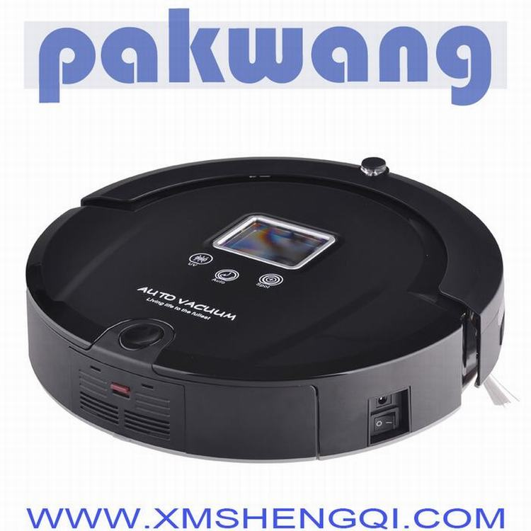 Multifunction Robot Vacuum Cleaner (Auto Clean,Sterilize),LCD Screen, Kirby Vacuum Cleaner(China (Mainland))