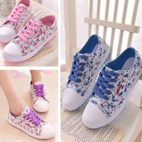 2015 flat shoes lazy canvas espadrilles flowers print  Casual shoes Women's low breathable Shoes For women sneakers
