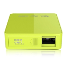 Original Unic UC50 DLP Mini Projector Full HD 1080P Home Theater Projecting Camera LED Video Home Multimedia Video(China (Mainland))