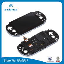 For PSVita 1000 for PS Vita PSV 1000 LCD Display with Touch Screen Digital Assembly with frame original(China (Mainland))