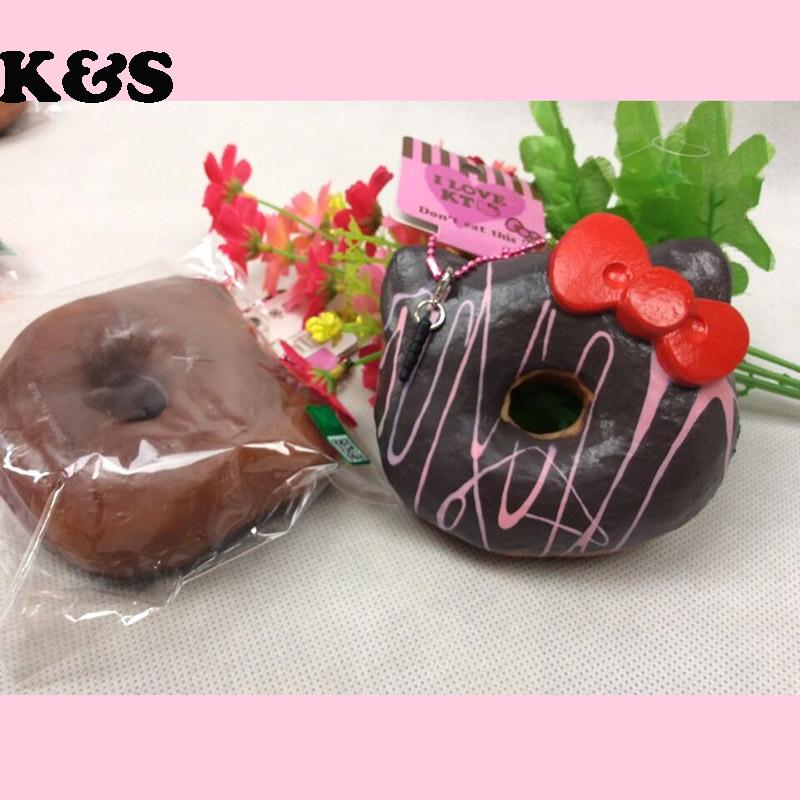 Rare Squishy Package : Aliexpress.com : Buy 16pcs/lot 12cm original package hello kitty squishy rare Jumbo Donut cell ...