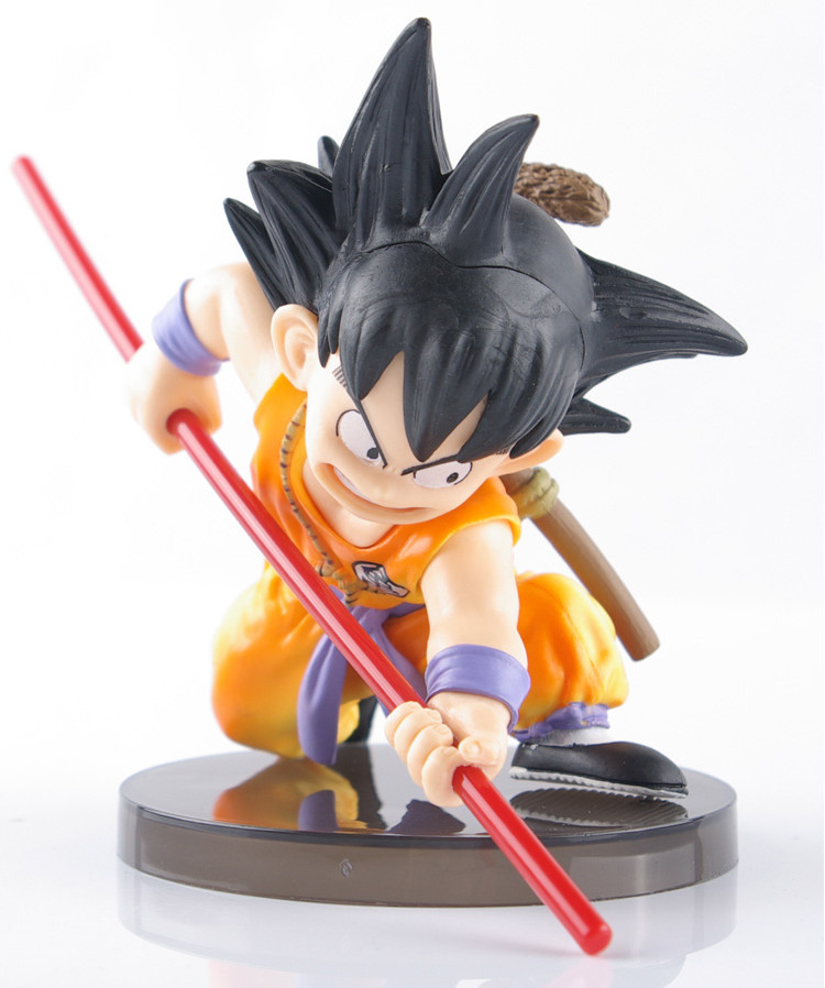 """Dragon Ball Z The Monkey King Child Son Goku PVC Action Figure Collection Model Toy 6""""15CM(China (Mainland))"""
