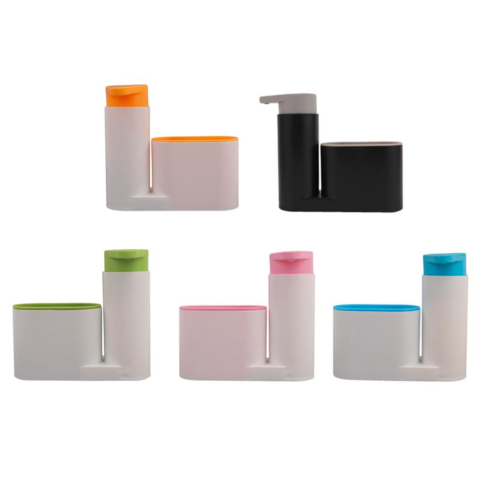 2017 NEW Portable Home Bathroom Plastic Shampoo Soap Dispenser Practical Liquid Soap Shampoo Shower Gel Container Holder(China (Mainland))