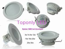 2015 new 30w led downlight engineering project led down lamp Epistar SMD LED CRI>80 UL listed led driver AC100-240v 3100lm white(China (Mainland))