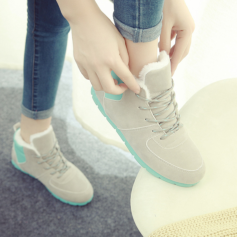 Warm Winter Women Casual Shoes 2015 Fashion Womens Snow Outdoor Walking Zapatillas Chaussure Femme - New Times Store store