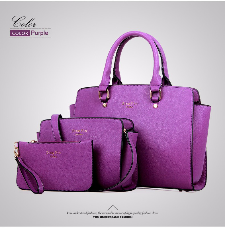 Women Gorgeous Elegant Composite Bag Luxury Designer Handbag Ladylike Single Shoulder Ladies Crossbody Bag PU Clutch Bag