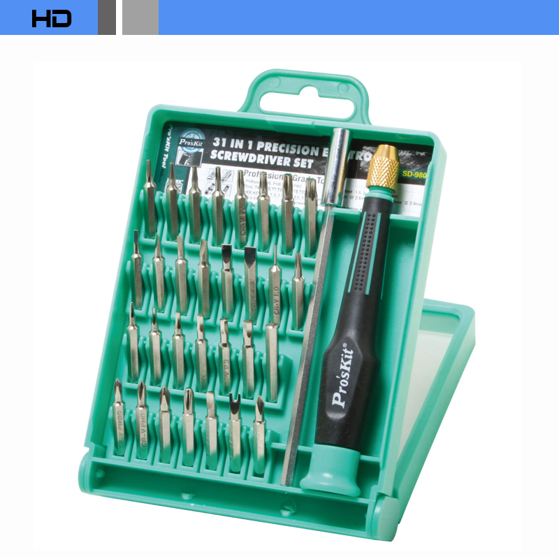 SD-9802 31in1 Screwdriver Cell phone Notebook Repair Tool Combination Screwdriver disassemble tool(China (Mainland))