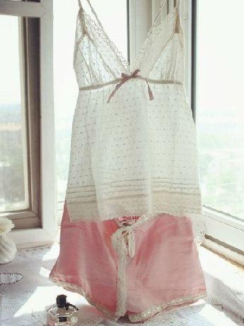 womens sleep &amp; lounge 100% cotton top silk pants wood button ladys pajama setsОдежда и ак�е��уары<br><br><br>Aliexpress