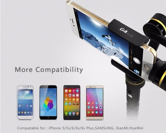 Feiyu G4 Plus Newest Smartphone Gimbal Which compatible With iPhone 6 Plus/6 / 5s / 5c / 5 / 4s /4 G4Plus