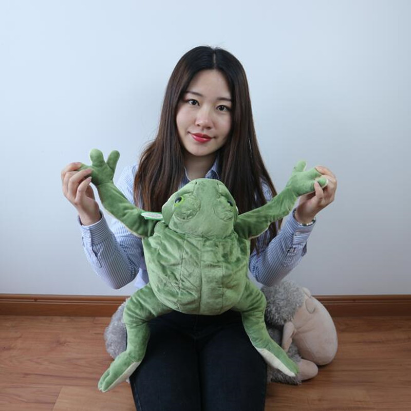 CXZYKING Funny Large Size Frog Plush Toys Soft Toys For Kids Stuffed Animal Toy Plush Frog Doll For Children Lovely Gift(China (Mainland))