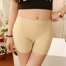 Summer Thin Seamless Women Safety Shorts Leggings Pants Modal Lace Panties Boxer Lady Safe Underwear Fit For Dress kz163(China (Mainland))