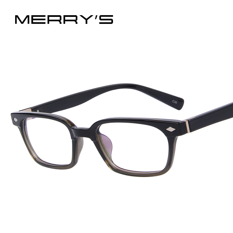 Eyeglass Frames In Fashion : Aliexpress.com : Buy MERRYS Fashion Men Women Rivet ...