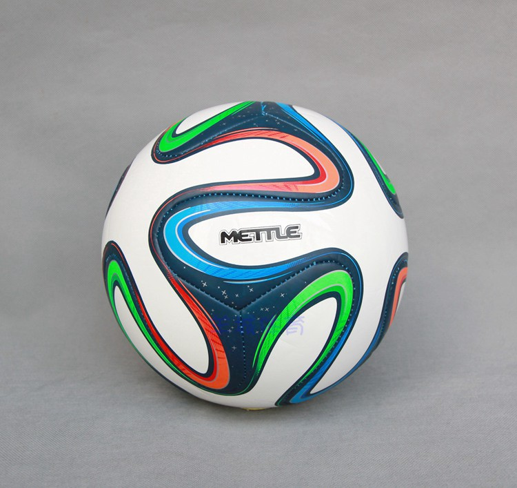 Football Ball Machine Stitch America Soccer Balls PU Granules Slip-resistant Size 5 Trainning Match Balls(China (Mainland))