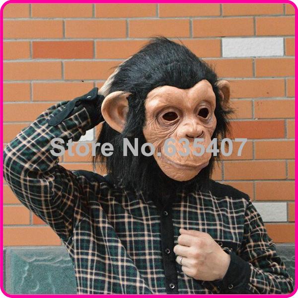 2016 hot selling Diamond big ears monkey mask gorilla costumes to the West Monkey King Sun Wukong Dragon Ball caps(China (Mainland))