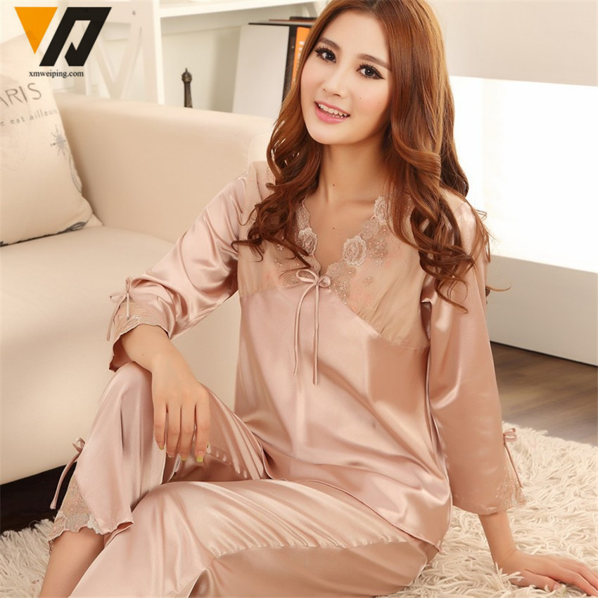 Compare Prices on Silk Womens Pajamas- Online Shopping/Buy Low ...