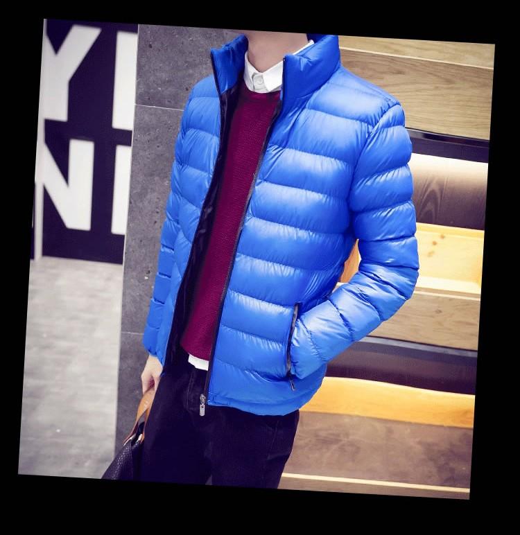 New Men Jacket Fashion Warm Coat Men Casual Winter Jacket Outwear Slim Coat Solid Cotton Parkas Hombre Jaqueta Plus Size M-4XL