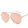 Newest Butterfly Sunglasses Women Designer Metal Frame Ladies Sun glasses Vintage Fashion Mirror Shades Oculos Female Points